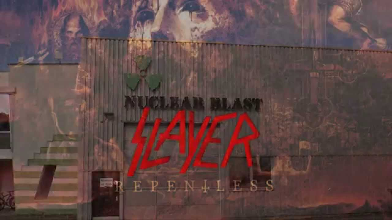 SLAYER - 'Repentless' is coming your way