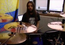 The Agonist — Panophobia Drum Playthrough with Simon McKay