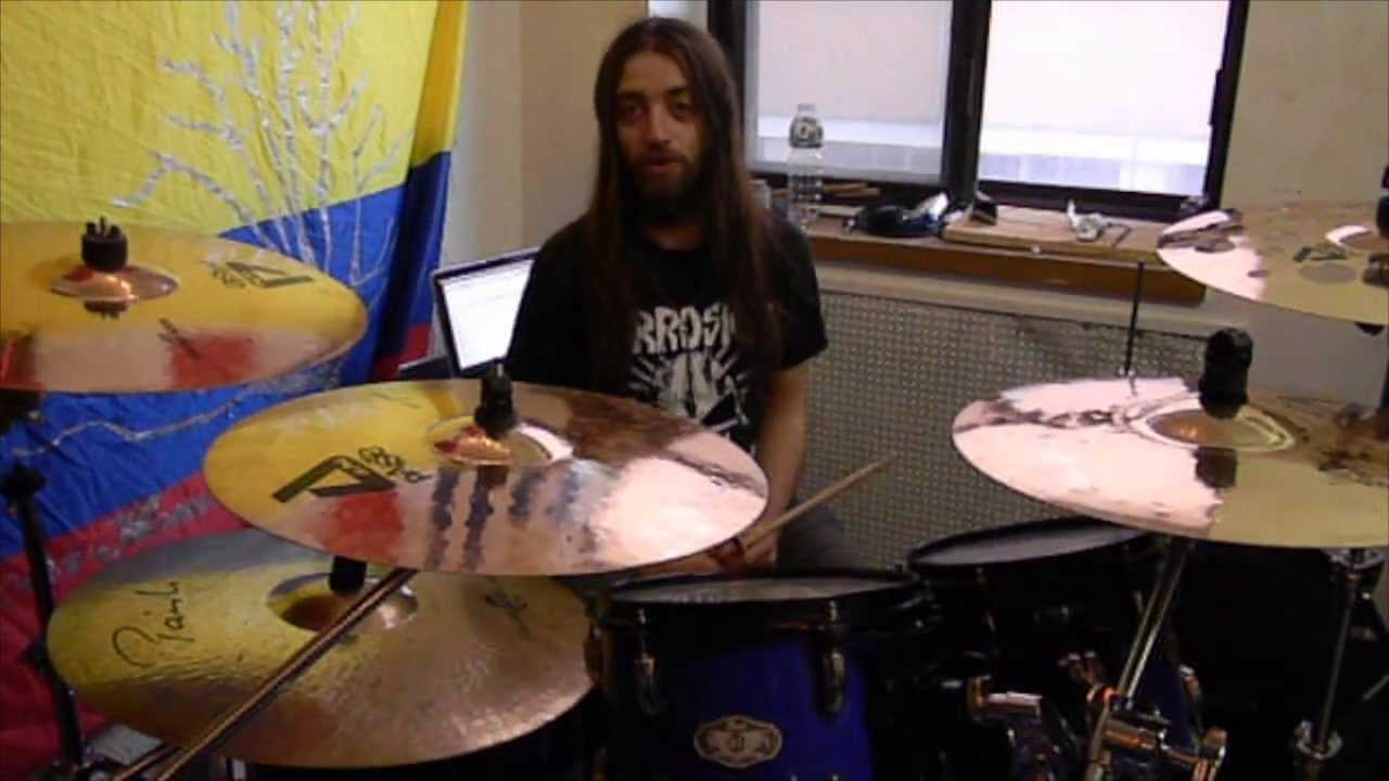 The Agonist - Panophobia Drum Playthrough with Simon McKay