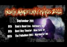 ARCH ENEMY, DEVILDRIVER, SKELETONWITCH and CHTHONIC appearing on the North American Khaos Tour 2011