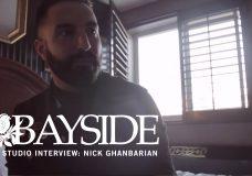 Bayside — In Studio Interview Nick Ghanbarian