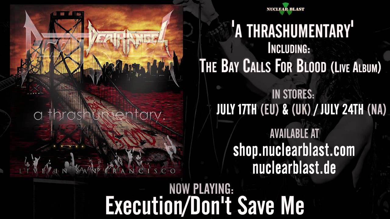 DEATH ANGEL - Execution Don't Save Me (OFFICIAL LIVE TRACK)