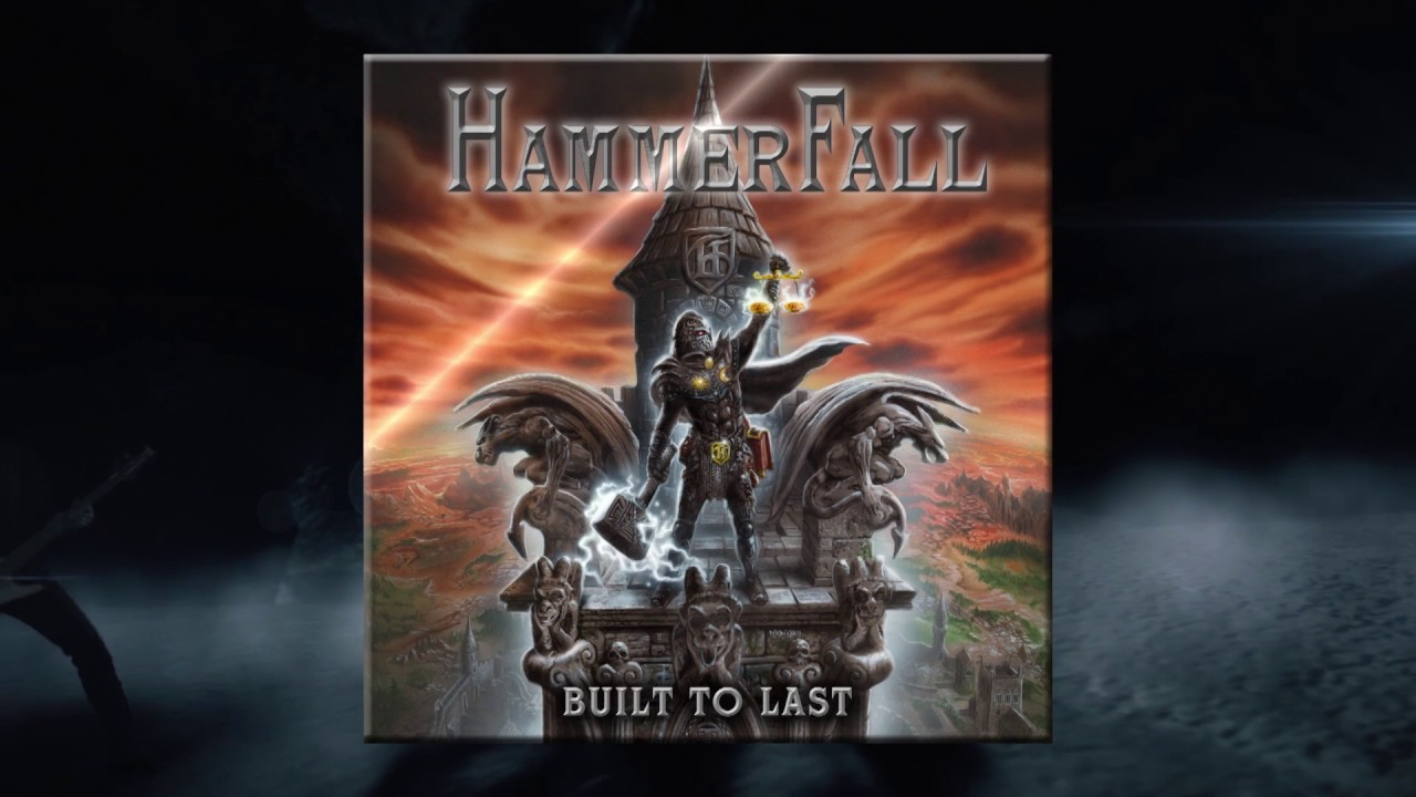 HAMMERFALL - Built To Last (Commercial spoken by Joacim) Napalm Records