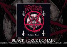 KRISIUN — Black Force Domain (ALBUM TRACK)