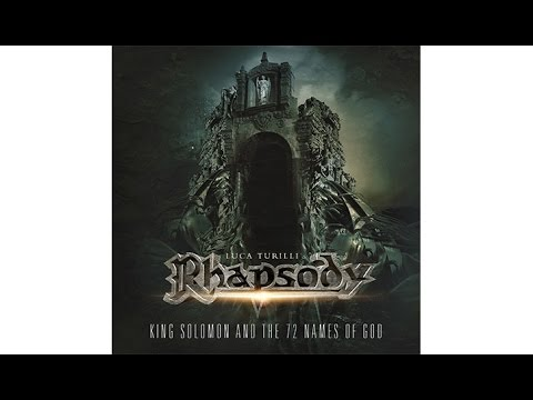 LUCA TURILLIS RHAPSODY - King Solomon And The 72 Names Of God (OFFICIAL TRACK EXCERPT)