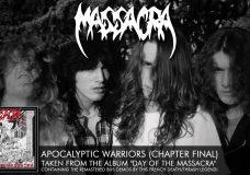 MASSACRA — Apocalyptic Warriors (Chapter Final) (ALBUM TRACK)