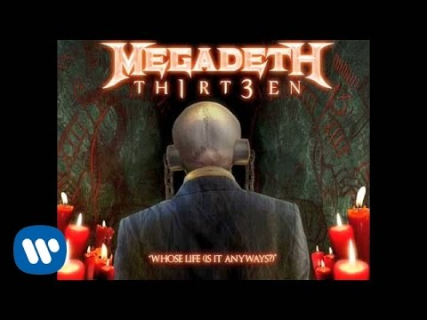 Megadeth - Whose Life Is It Anyways (Audio)