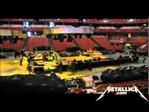 Metallica Behind the World Magnetic Ball Drop (MetOnTour - Anaheim, CA - 2009)