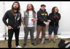 MUNICIPAL WASTE — Interview at Hellfest Live Photos And Footage (OFFICIAL BEHIND THE SCENES)