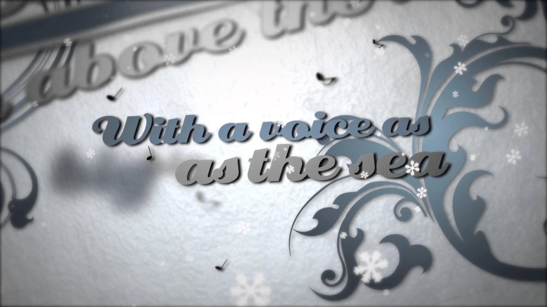 William Beckett - Do You Hear What I Hear (Lyric Video)