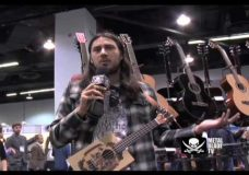 As I Lay Dying's Phil Sgrosso jams at NAMM 2010