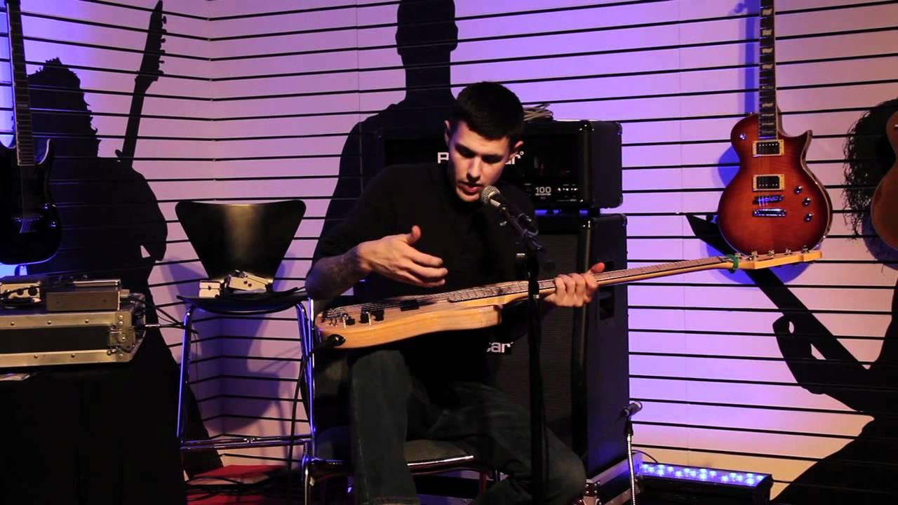 Evan Brewer at NAMM 2012