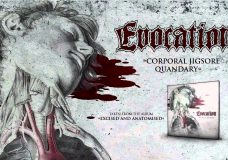 EVOCATION — 'Corporal Jigsore Quandary' (CARCASS COVER)