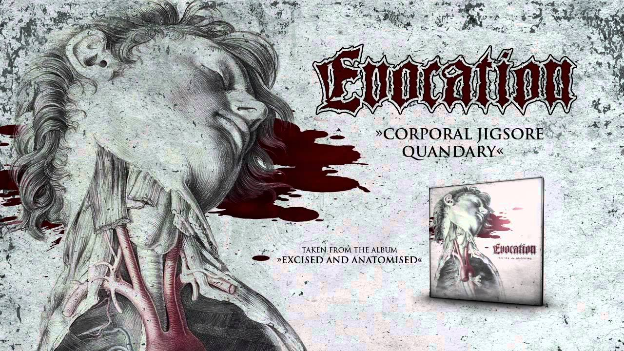 EVOCATION -- 'Corporal Jigsore Quandary' (CARCASS COVER)