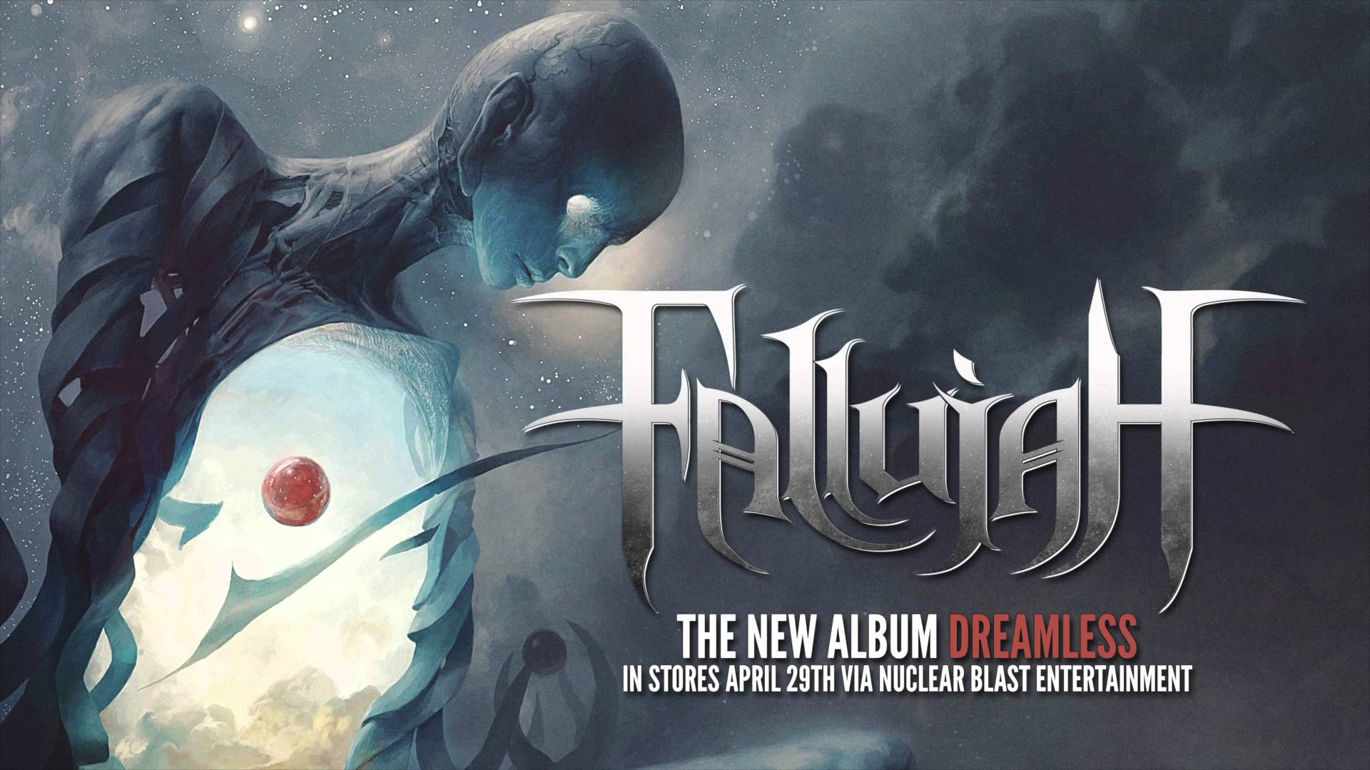 FALLUJAH - 'Scar Queen' (OFFICIAL TRACK VIDEO)