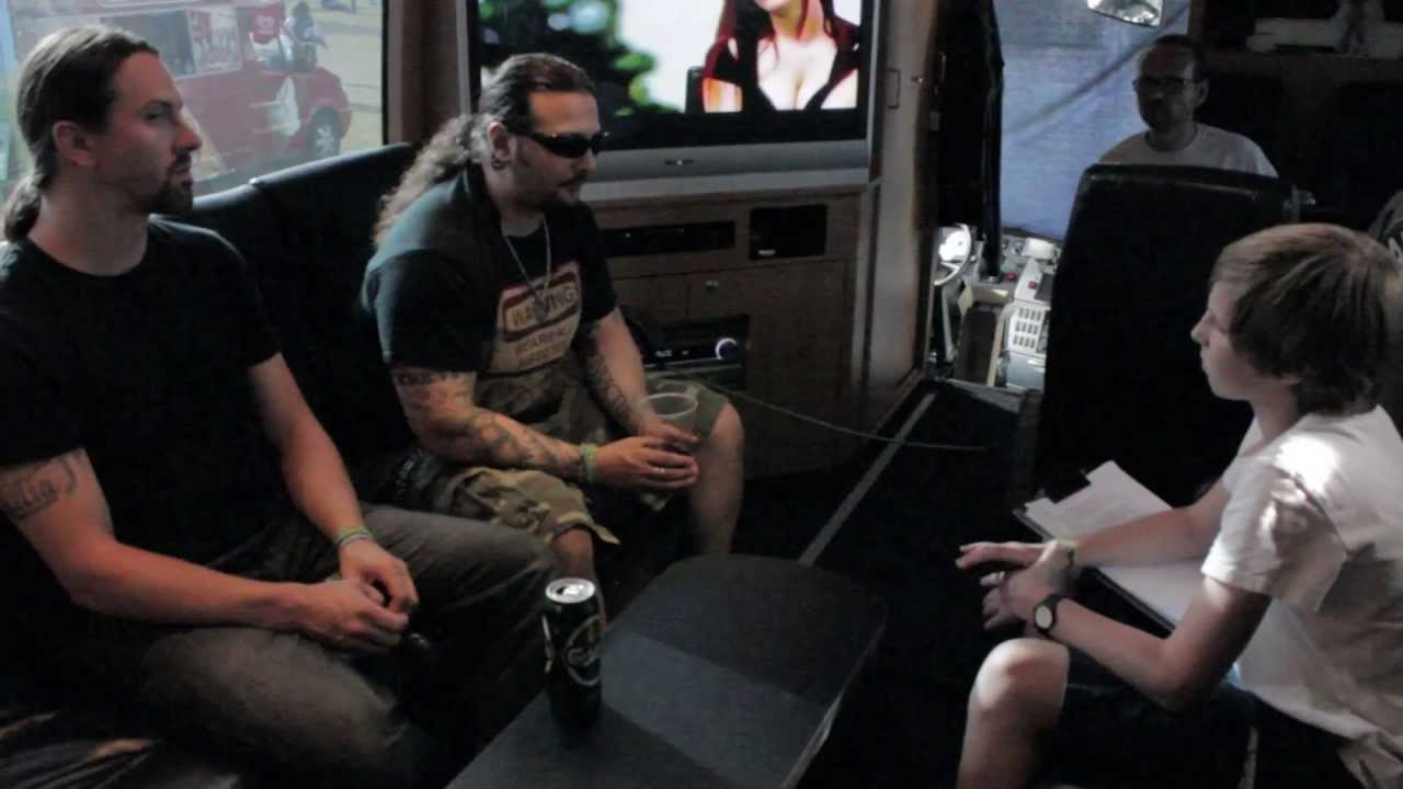 KATAKLYSM - Nuclear Blast & EQPTV at Bloodstock Festival 2013 - (OFFICIAL INTERVIEW)