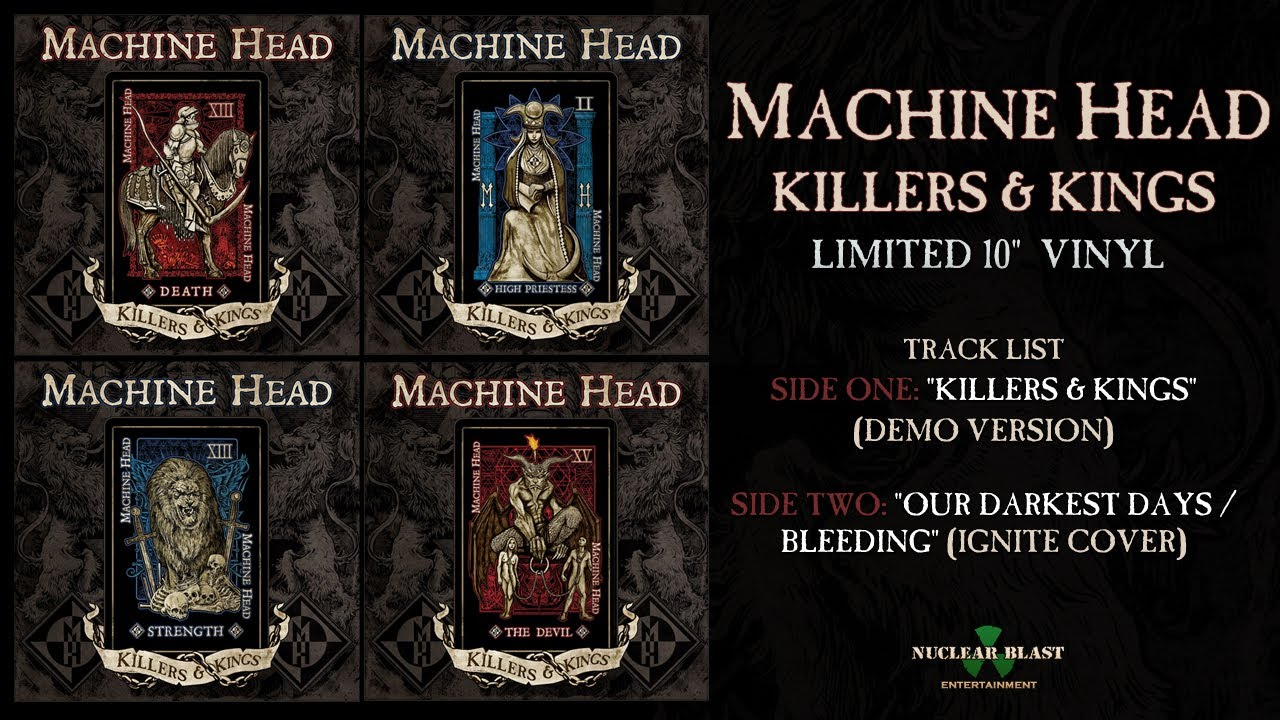 MACHINE HEAD - Killers & Kings - Record Store Day (April 19, 2014)