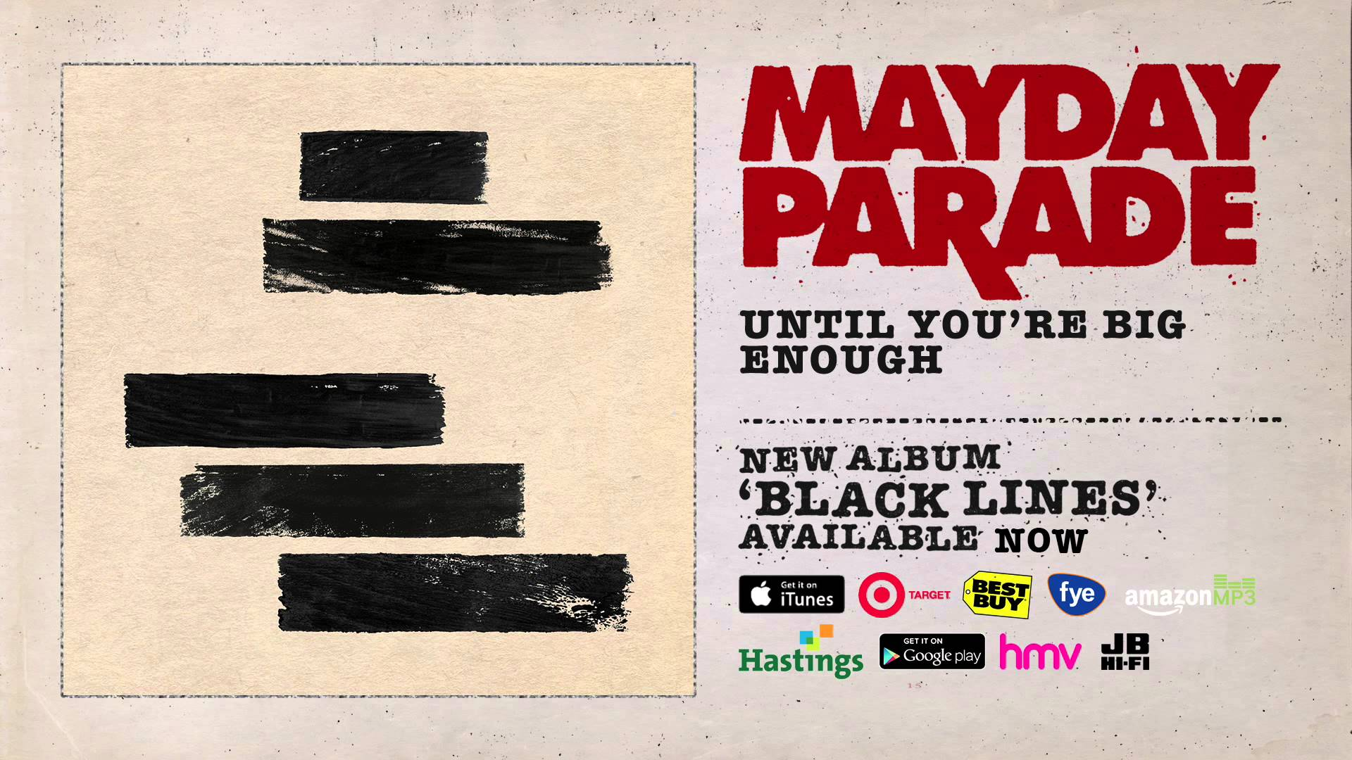 Mayday Parade - Until You're Big Enough
