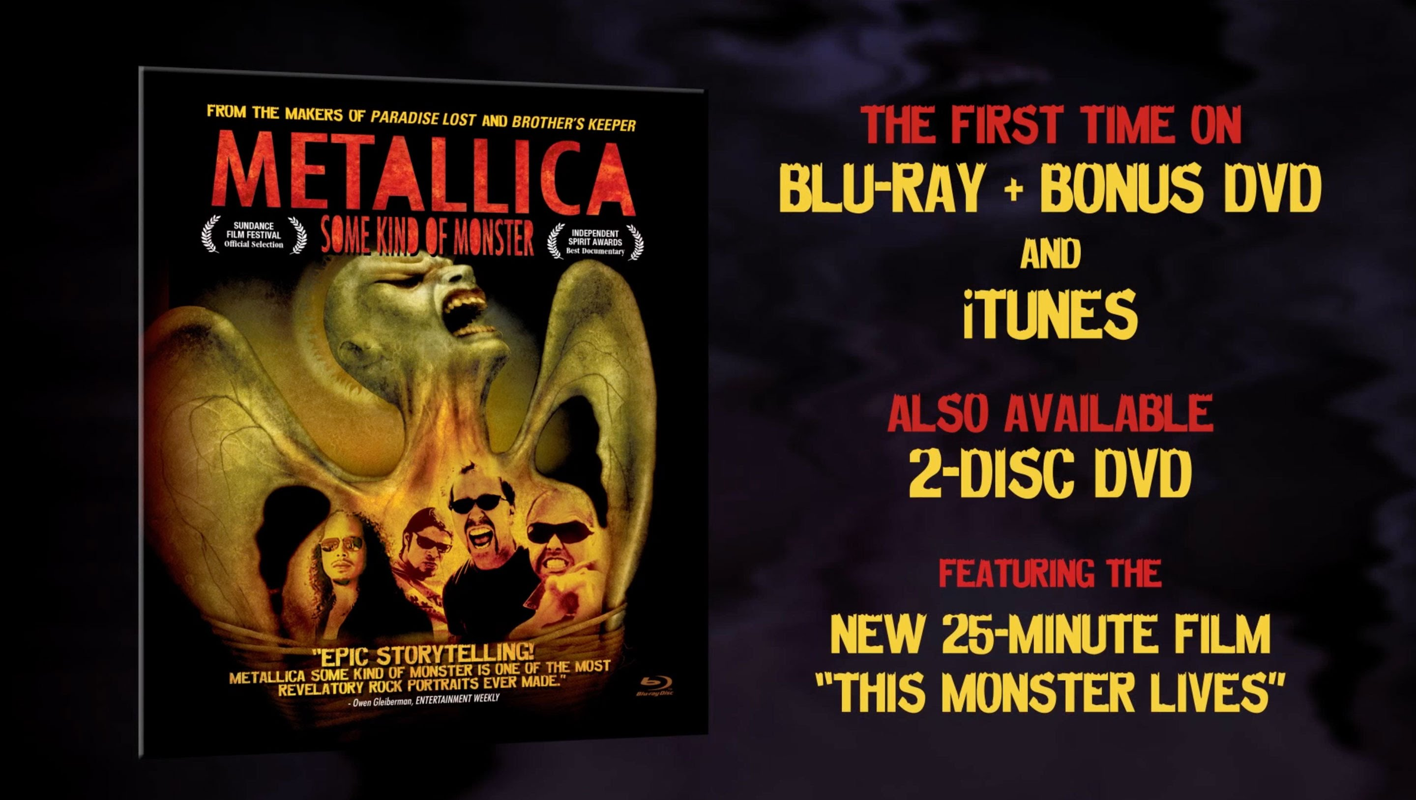 Metallica Some Kind of Monster - 'This Monster Lives' Preview