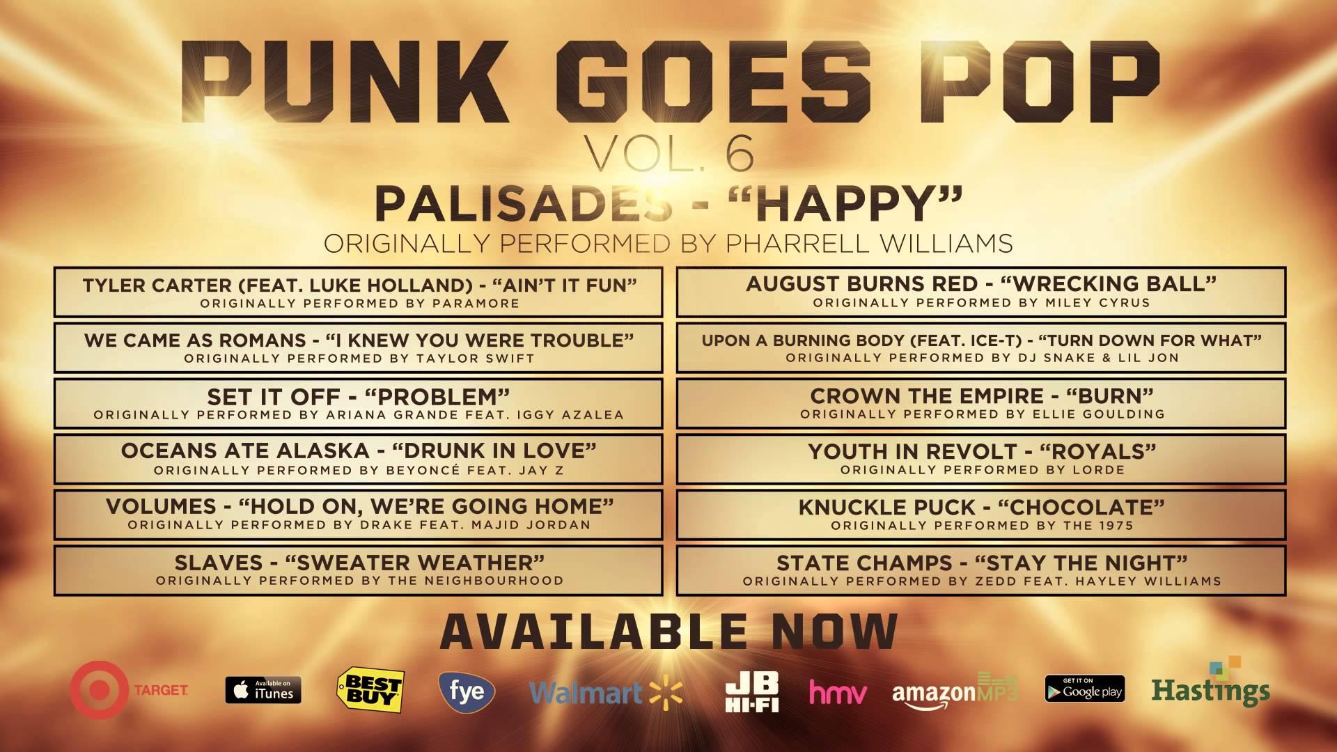 Punk Goes Pop Vol. 6 - Palisades 'Happy'