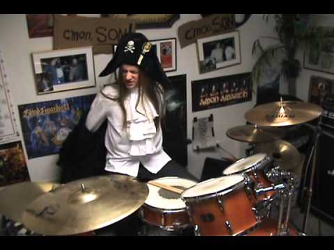 SWASHBUCKLE - New Drummer Legendary Pirate King Eric The Brown (OFFICIAL VIDEO)