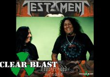 TESTAMENT — Pre-order 'Brotherhood of the Snake' (OUTTAKES)