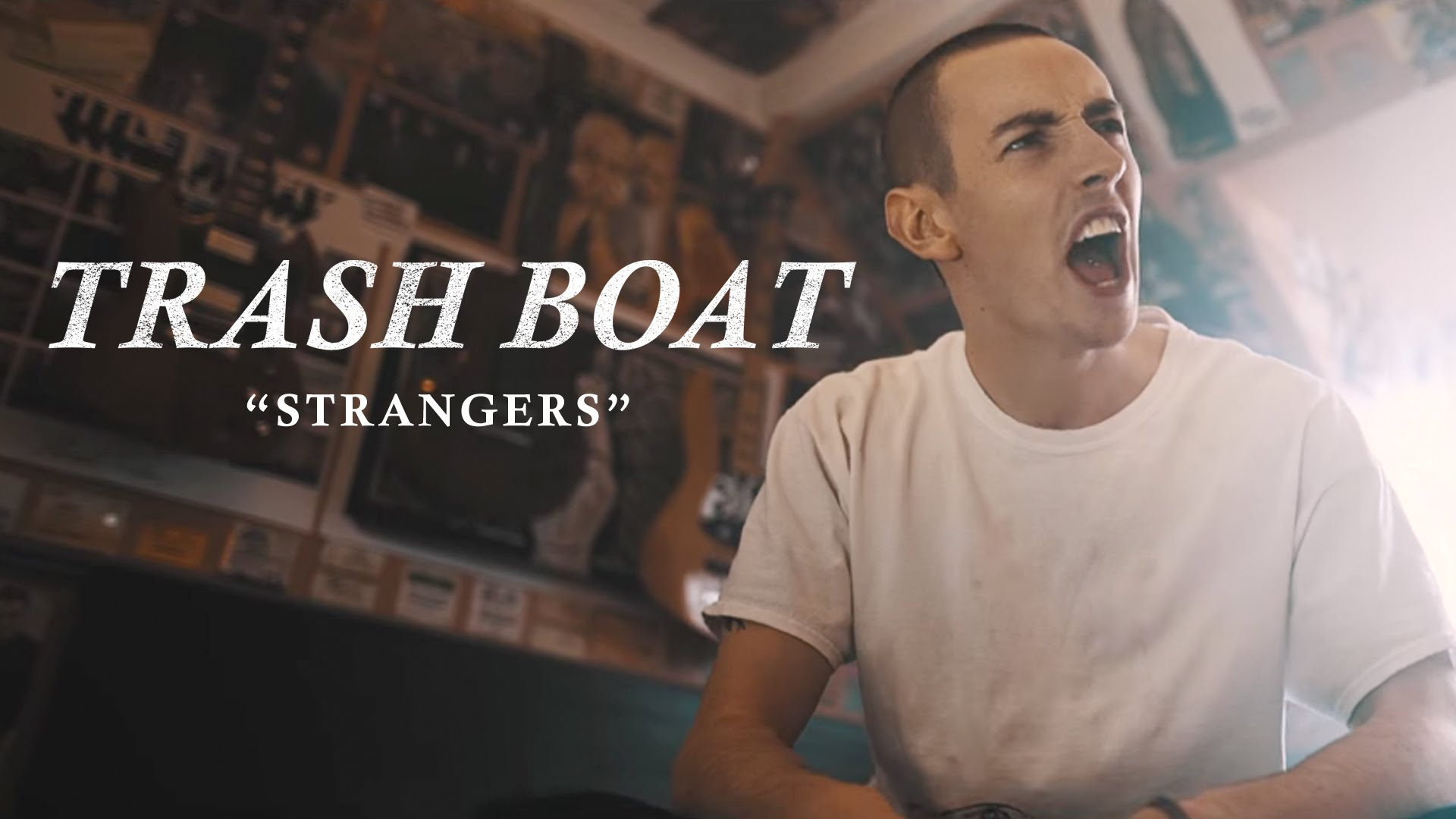 Trash Boat - Strangers feat. Dan Campbell (Official Music Video)