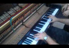 'Звон монет' на раздолбанном пианино…