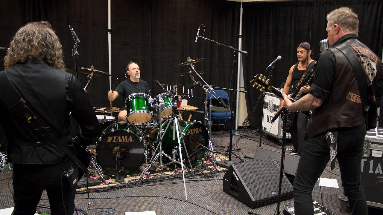 Metallica Tuning Room 360 (San Juan, Puerto Rico - 2016)