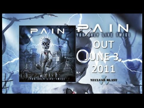 PAIN - You Only Live Twice - (OFFICIAL BEHIND THE SCENES PT 1)