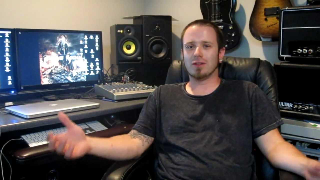 THREAT SIGNAL - 2011 Studio Update 3 Vocals & Bass (OFFICIAL BEHIND THE SCENES)