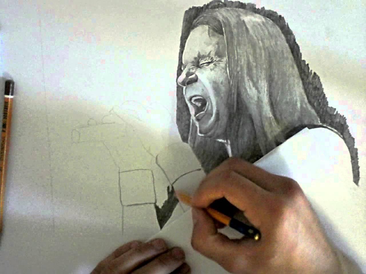 Валерий Кипелов 'ария' рисунок