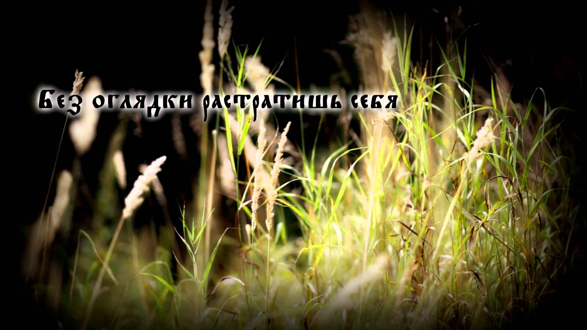 Butterfly Temple Останься со мной lyric video 2014
