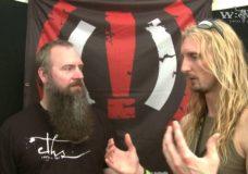 Hammerfall's Joacim & Oscar — Part 2 — Interview at Wacken Open Air 2009