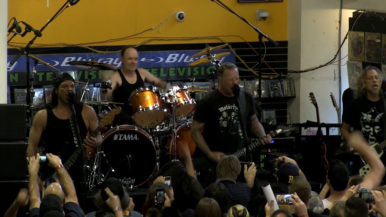 Metallica Hit the Lights (Live on Record Store Day 2016)