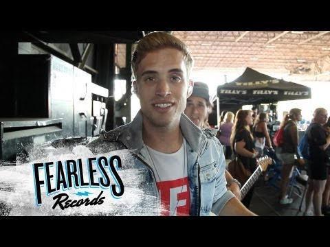 The Summer Set - Warped Tour 2013 (Day in the Life)