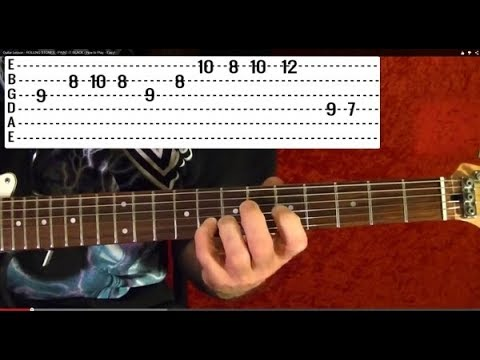 10 EASY Popular Rock Solos - Guitar Lesson - Beginners