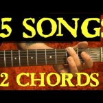 2 Chords 15 EASY Songs Guitar Lesson