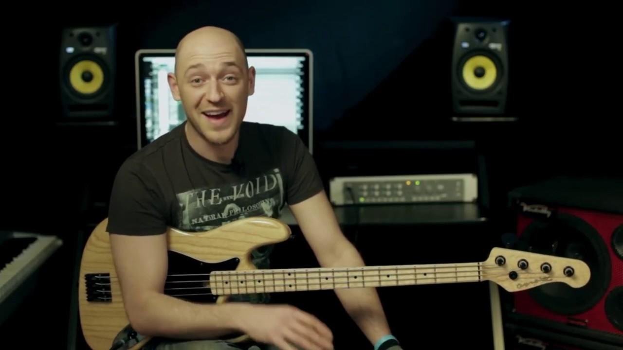2 приема для солирования на басу (бас-гитара урок)