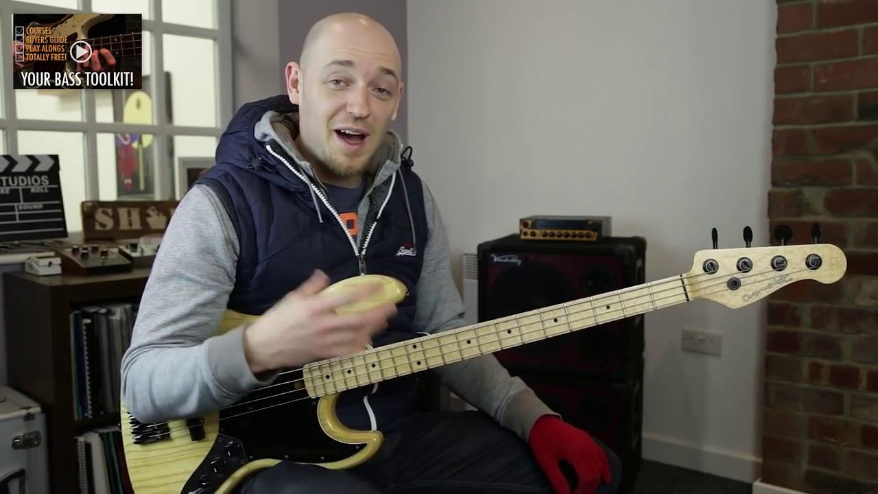 2 убойных упражнения на скорость и смену позиции (урок бас гитара)