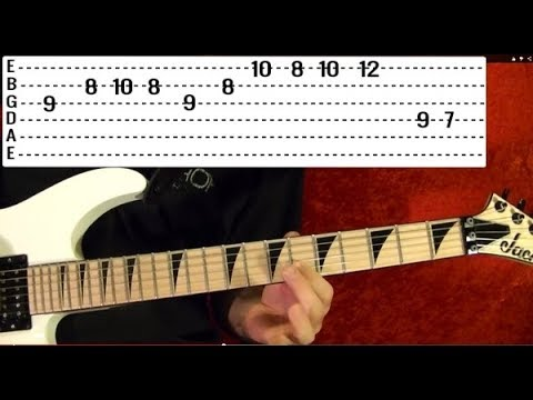 21 MUST LEARN Heavy Metal Riffs Guitar Lesson
