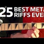 25 BEST HEAVY METAL RIFFS EVER