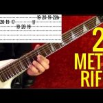 25 BEST HEAVY METAL RIFFS OF ALL TIME Guitar Lesson