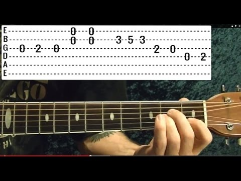 25 Blues Riffs - Guitar Lesson - Beginners