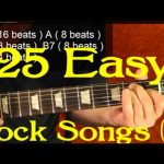 25 Rock Songs for Beginner Guitar Players ( 3 of 3 )