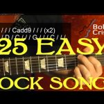 25 SUPER EASY Rock Songs for Beginner Guitar Players ( 2 of 3 )