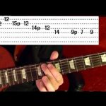 27 Popular Rock Riffs — Guitar Lesson