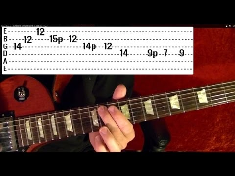 27 Popular Rock Riffs - Guitar Lesson