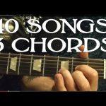 40 Rock Songs, 3 Chords Guitar Lesson Beginners