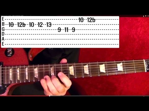 8 AMAZING Rock Riffs Guitar Lesson